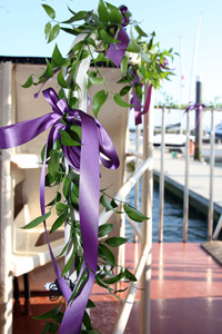 The Princess Caroline is a truly stunning location for a wedding reception.