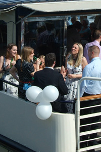 Corporate Events Aboard Princess Caroline, Town Quay, Southampton